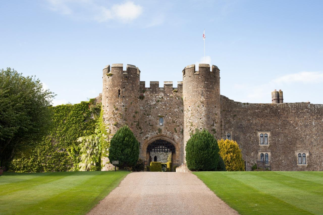 """<p>Treat your mother like the queen she is by taking her to a castle for the day. <a href=""""http://www.amberleycastle.co.uk"""">Amberley Castle</a> in West Sussex is putting on a special Mother's Day lunch (from £34.50pp), where you can enjoy a five-course menu in either the 12th century Queen's Room or main dining room with open fire. After, head for a stroll around the castle walls and through the South Downs. </p>"""