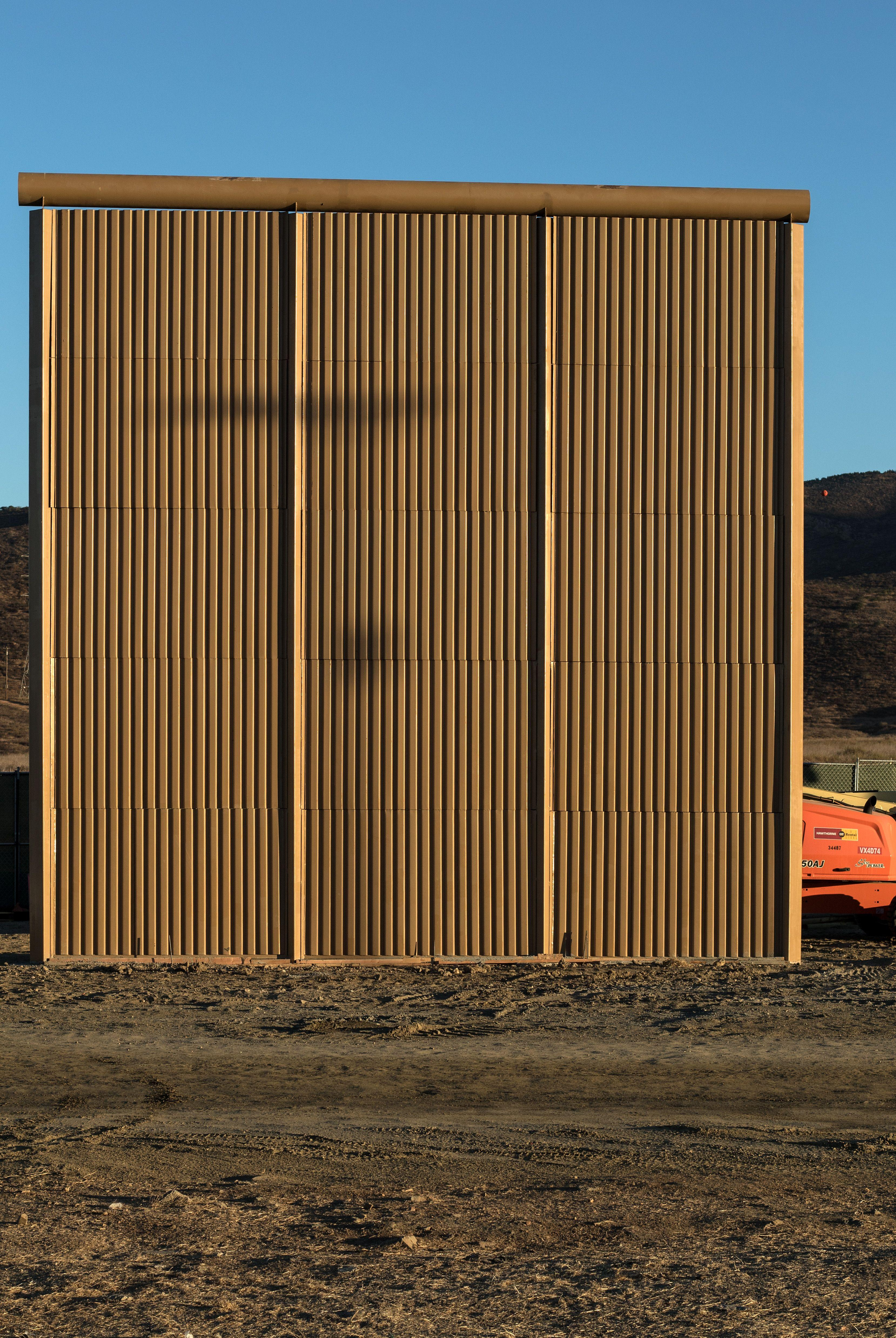 The walls are up to 30ft high (Picture: Getty)