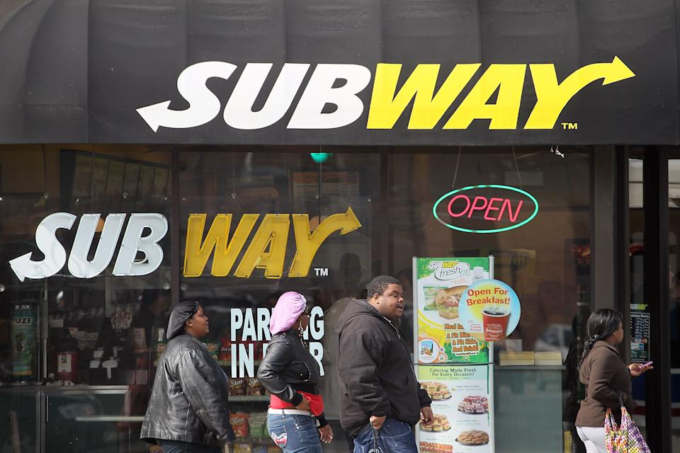 A Chicago Subway restaurant is back open after it was shuttered due to a viral video that showed an employee cleaning a counter with a floor mop.  (Photo: Scott Olson/Getty Images)