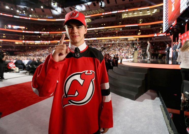 b71a8aa575c CHICAGO – Nico Hischier didn't know he was going to be the first player  selected in the 2017 NHL Draft by the New Jersey Devils. The team didn't  inform him ...