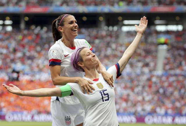 The USWNT's fourth World Cup title is a tribute to Megan Rapinoe, Alex Morgan and the rest of the Americans' ability and advocacy. (Associated Press)