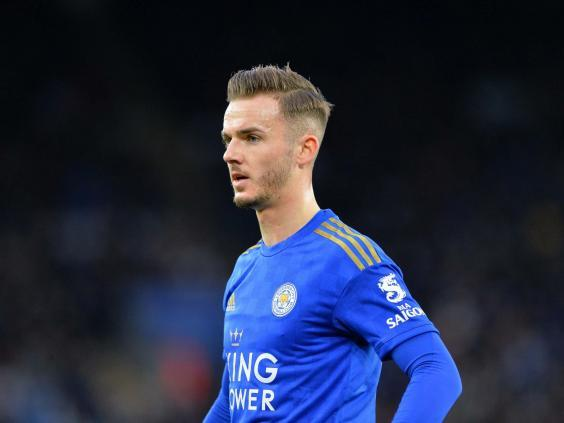 James Maddison played the second half of Leicester's last game after injury concerns (Getty Images)