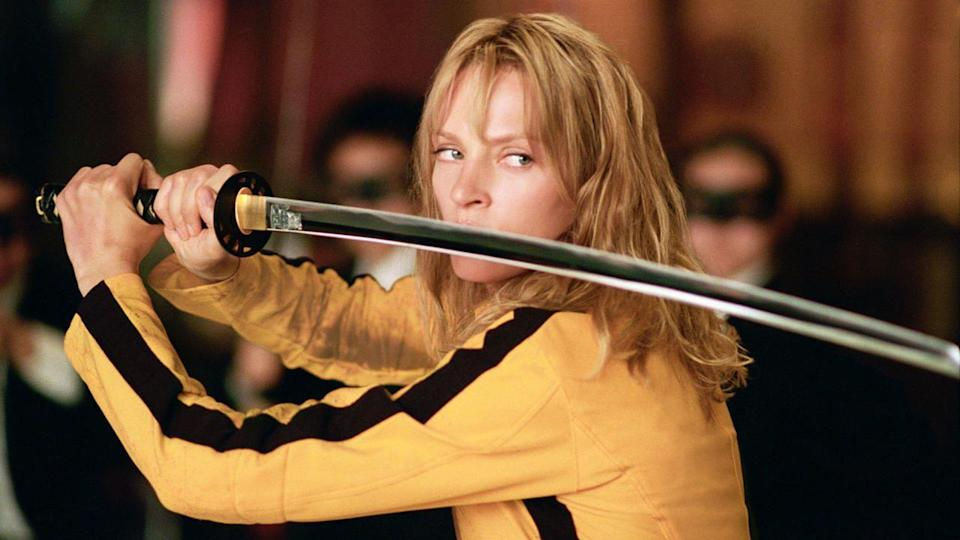 <p>In 2003, Uma Thurman signed on for another Quentin Tarantino movie. The action film, with no shortage of violence, was a hit amongst fans, as was the sequel.</p>