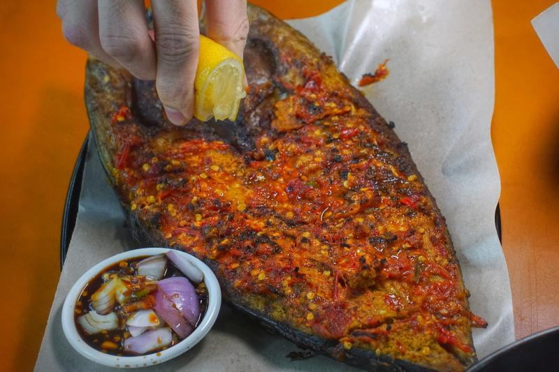 Alimama grilled fish