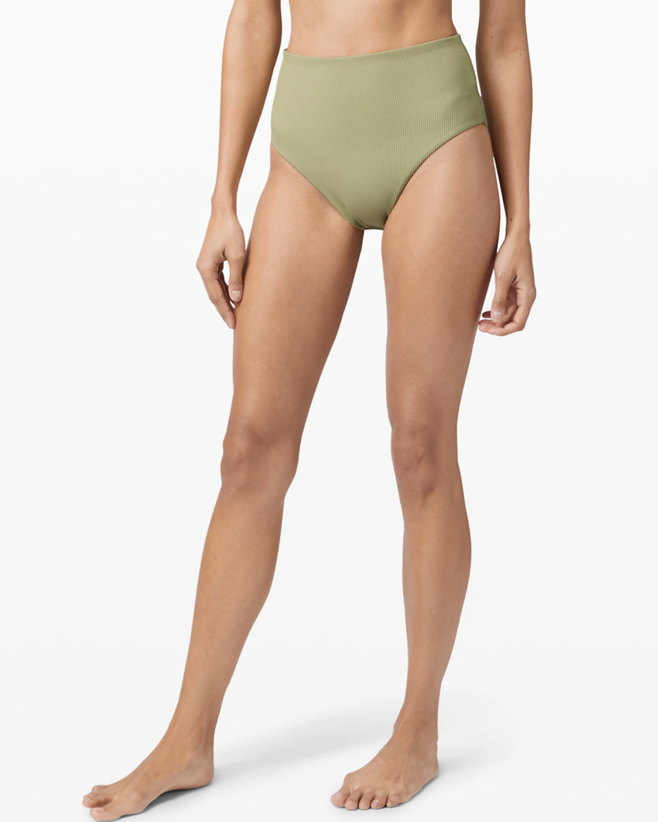 """<p><strong>Lululemon</strong></p><p>lululemon.com</p><p><a href=""""https://go.redirectingat.com?id=74968X1596630&url=https%3A%2F%2Fshop.lululemon.com%2Ferror%2Foutofstock%3Fproduct%3DClear%252520Waters%252520High-Rise%252520Skimpy%252520Bottom%26productId%3Dprod9370375%26title%3DClear%252520Waters%252520High-Rise%252520Skimpy%252520Bottom%252520%25257C%252520Women%2527s%252520Swim%252520Bottoms%26unifiedId%3DClear-Waters-High-Rise-Skimpy-Bottom-MD&sref=https%3A%2F%2Fwww.seventeen.com%2Ffashion%2Fg30519407%2Fdoes-lululemon-have-sales%2F"""" rel=""""nofollow noopener"""" target=""""_blank"""" data-ylk=""""slk:Shop Now"""" class=""""link rapid-noclick-resp"""">Shop Now</a></p><p><strong><del>$68</del> $49 (28% off)</strong></p><p>Out of all the bikinis I've ever worn, these bottoms are my favorite. The high-rise cut hits the perfect spot and the quality design gives the perfect amount of coverage and compression.</p>"""