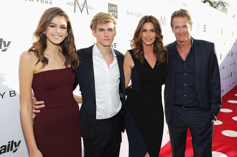 "Cindy Crawford on Her Look-Alike Model Daughter: ""She Can Imitate Me"""