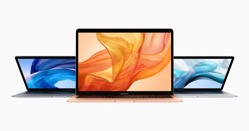 <p>It doesn't get much more lustworthy than the <span>MacBook Air</span> ($1,099). Take notes, build projects, and study, all on this device.</p>
