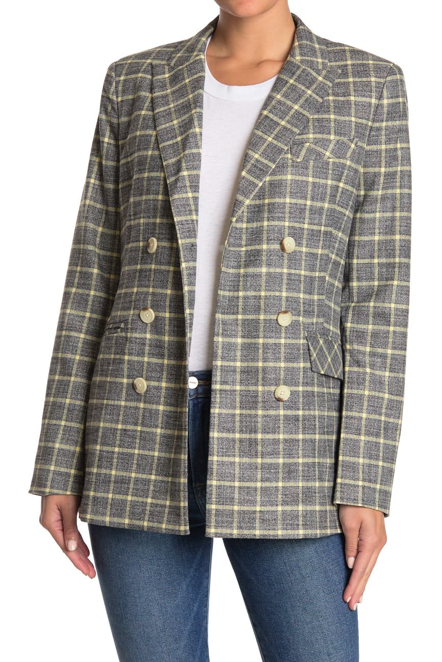 "<br><br><strong>Current/Elliott</strong> The Demi Blazer, $, available at <a href=""https://go.skimresources.com/?id=30283X879131&url=https%3A%2F%2Fwww.nordstromrack.com%2Fs%2Fcurrent-elliott-the-demi-blazer%2Fn3253771"" rel=""nofollow noopener"" target=""_blank"" data-ylk=""slk:Nordstrom Rack"" class=""link rapid-noclick-resp"">Nordstrom Rack</a>"