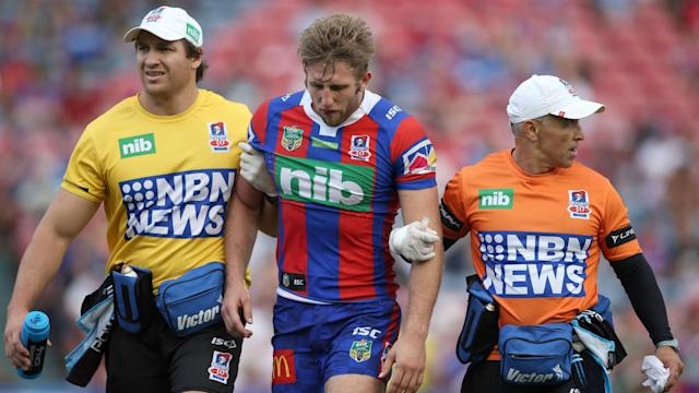 "NRL strugglers Newcastle Knights remain ""disappointed"" with a verdict on their handling of Brendan Elliot's head injury."