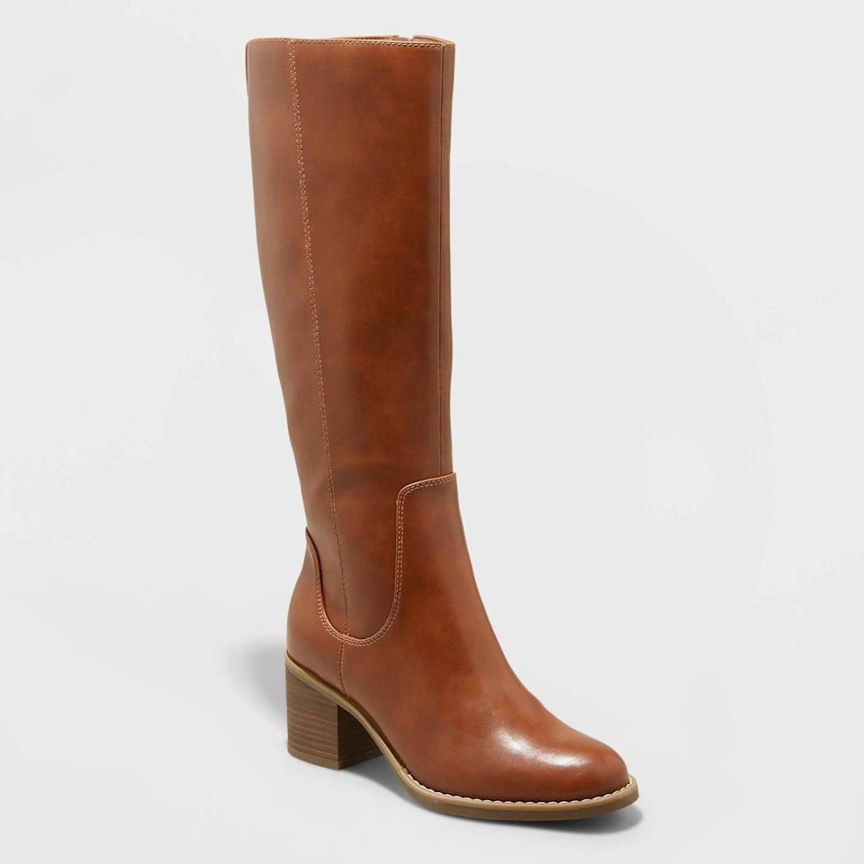 <p>These <span>Universal Thread Tatiana Heeled Riding Boots</span> ($40) will give you that extra confidence boost thanks to the added height. They will instantly elevate any ensemble. </p>