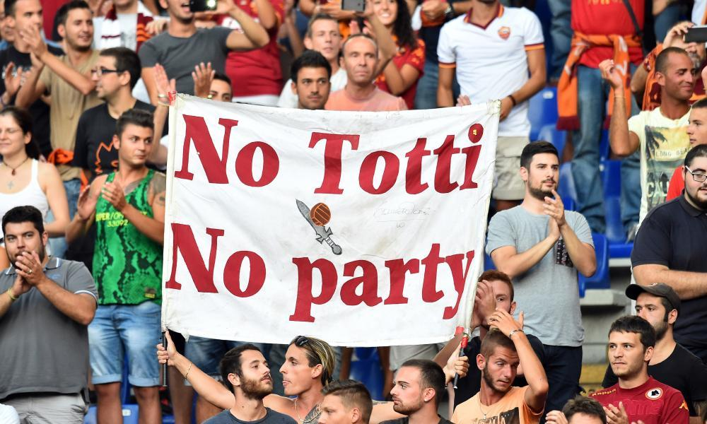 Totti banner