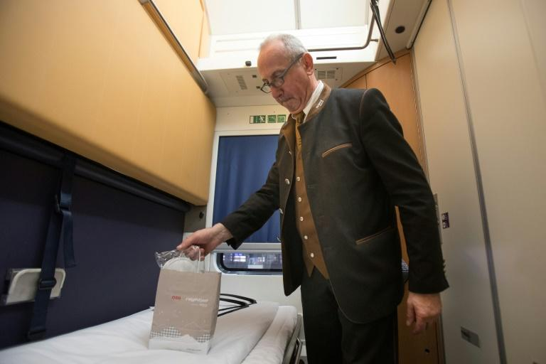 Profits per passenger on overnight trains take a hit from the extra space that sleeper compartments require