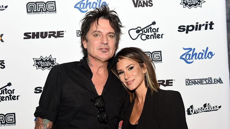 b06ff2ea824 Tommy Lee and Brittany Furlan Are Married -- See Their Sweet ...