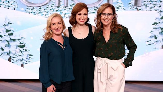 Ellie Kemper Discusses 'The Office' Reunion with Angela Kinsey & Jenna Fischer