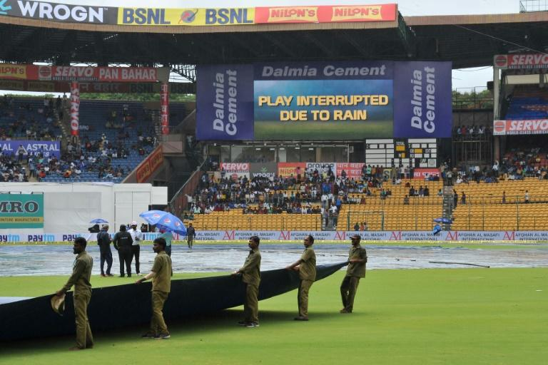The hosts reached 264 for one when rain stopped play for the second time in the final session