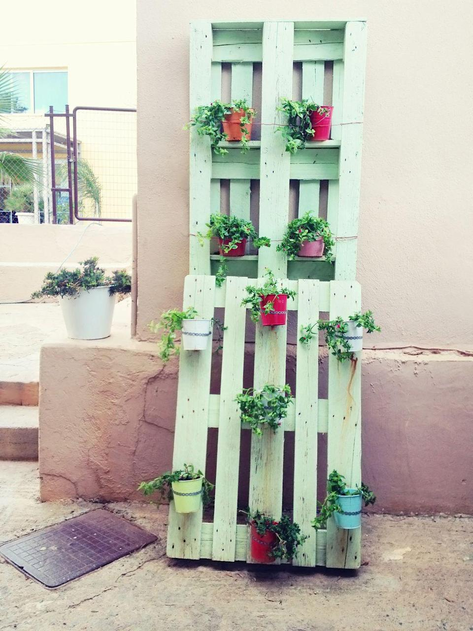 <p>One of the most cost-effective garden ideas is to simply upcycle! You can give old and tired furniture in your home a new lease of life in the garden. Old sinks and dressing tables can be turned into quirky planters, or you could use pallets.</p>