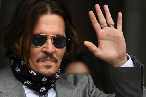 """Johnny Depp is suing a British newspaper over a 2018 story calling him a """"wife-beater"""""""