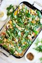 """<p>Sheet pan salads are a revelation we can get behind! Top roasted fall veggies with fresh spinach and creamy dressing right on the pan for easy cleanup. </p><p><strong>Get the recipe at <a href=""""https://www.feastingathome.com/warm-winter-salad/"""" rel=""""nofollow noopener"""" target=""""_blank"""" data-ylk=""""slk:Feasting at Home"""" class=""""link rapid-noclick-resp"""">Feasting at Home</a>. </strong></p><p><a class=""""link rapid-noclick-resp"""" href=""""https://go.redirectingat.com?id=74968X1596630&url=https%3A%2F%2Fwww.walmart.com%2Fsearch%2F%3Fquery%3Dbaking%2Bsheet&sref=https%3A%2F%2Fwww.thepioneerwoman.com%2Ffood-cooking%2Fmeals-menus%2Fg36806222%2Ffall-salad-recipes%2F"""" rel=""""nofollow noopener"""" target=""""_blank"""" data-ylk=""""slk:SHOP BAKING SHEETS"""">SHOP BAKING SHEETS</a></p>"""
