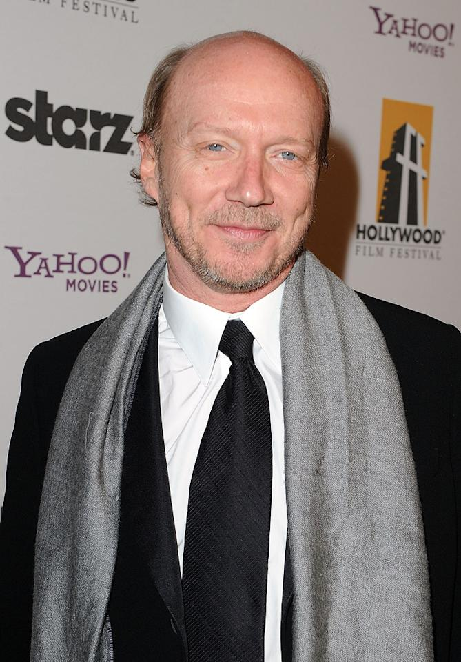 "<a href=""http://movies.yahoo.com/movie/contributor/1800232257"">Paul Haggis</a> attends the 14th Annual Hollywood Awards Gala at the Beverly Hilton Hotel on October 25, 2010."