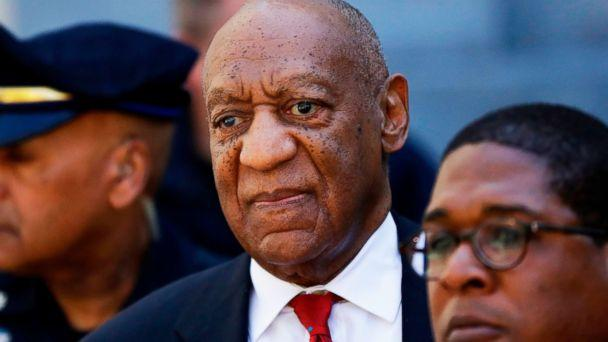 PHOTO: In this April 26, 2018 file photo, Bill Cosby, center, leaves the the Montgomery County Courthouse in Norristown, Pa. (Matt Slocum/AP, FILE)