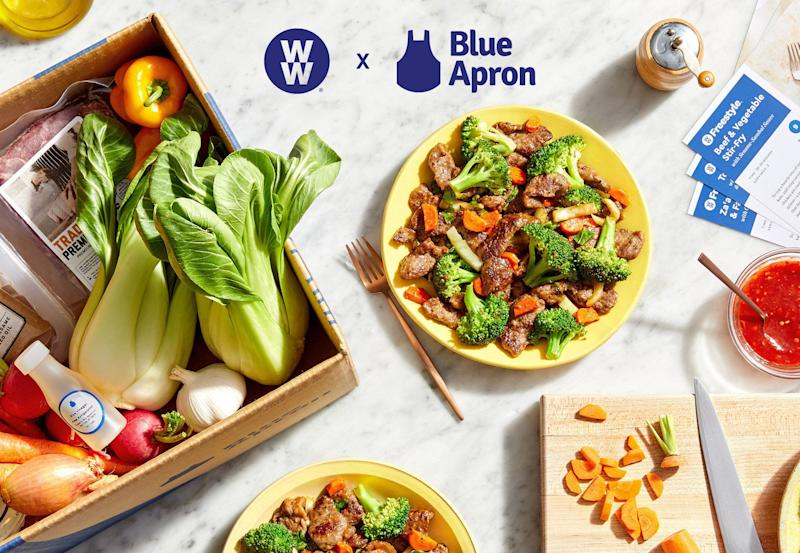 Get cooking with new Blue Apron recipes that are here just in time for 2020.  (Photo: Blue Apron)