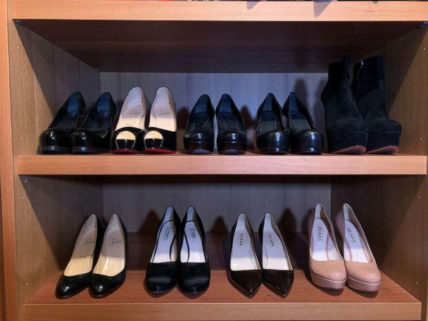 25abcc5f0c0 PHOTO  Bobbi Brown s closet before her high heel clean out. (Courtesy Bobbi  Brown