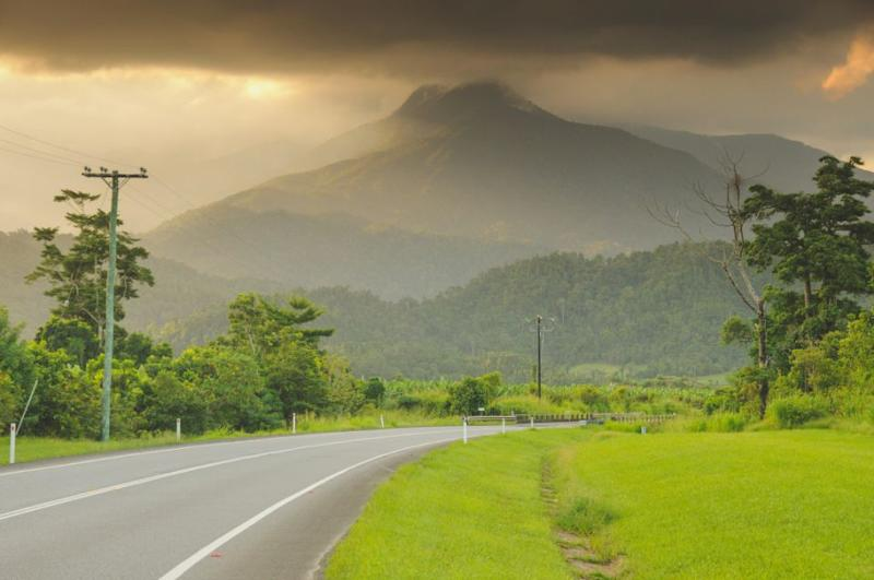 A typical view from the road in Tropical North Queensland. Photo: Getty