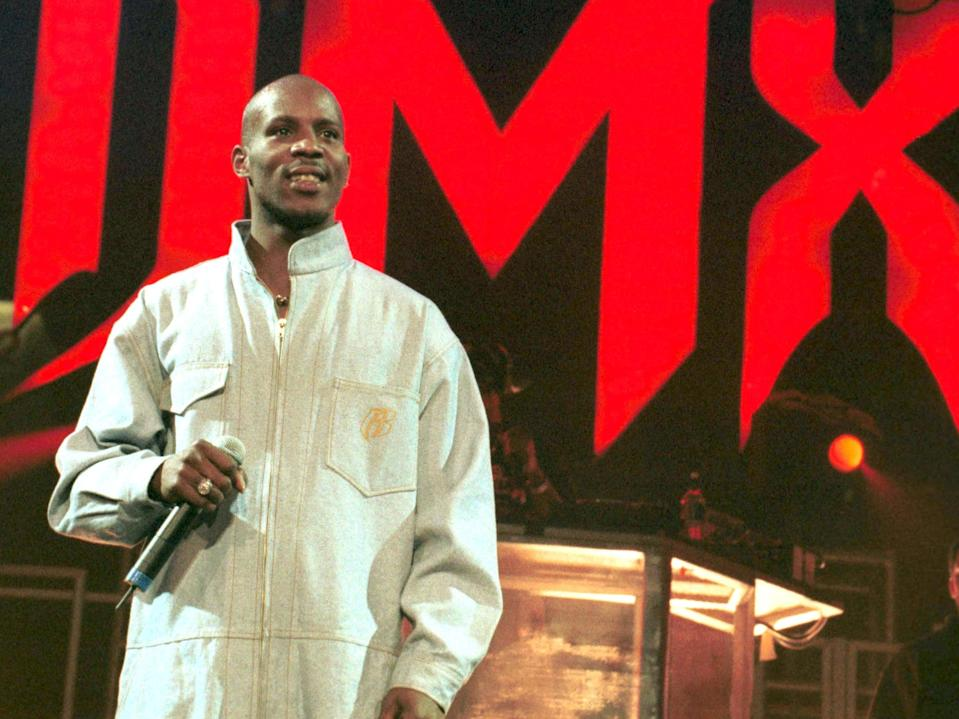 DMX on the Ruff Ryders tour in 1999Shutterstock