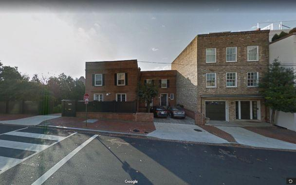 PHOTO: The home at 3600 Prospect St NW, Washington, D.C., from the film 'The Exorcist.' (Google Maps)