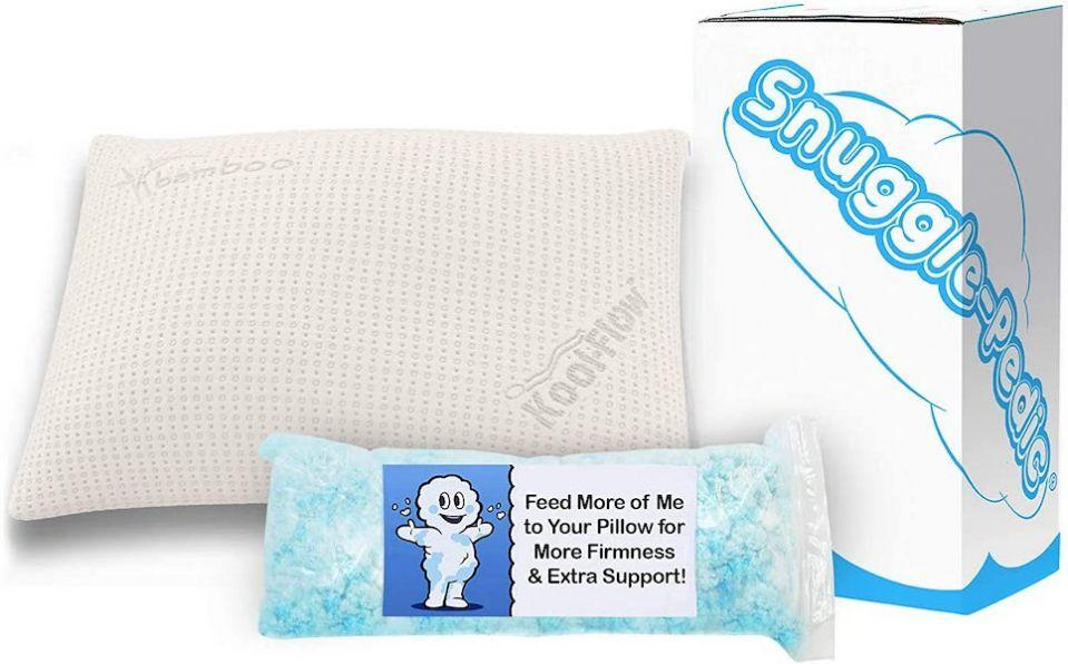 Add more or less filling to your pillow for the perfect feel. (Photo: Amazon)