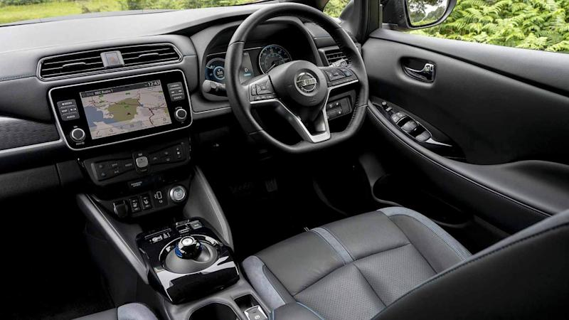 Nissan Leaf e-Plus interior