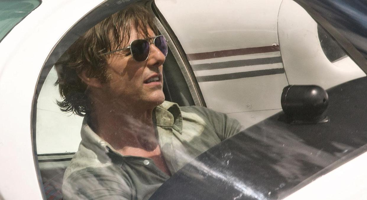 Tom Cruise plays rogue pilot Barry Seal in 'American Made' (Universal)