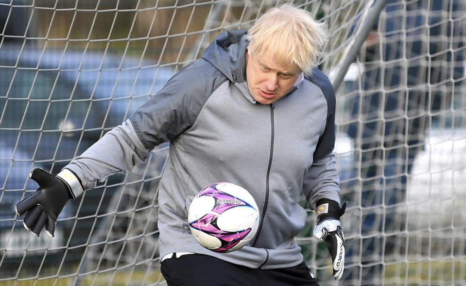 Boris Johnson and the U.K. government's withdrawal from the European Union could have an adverse effect on the Premier League. (Toby Melville/Pool Photo via AP)