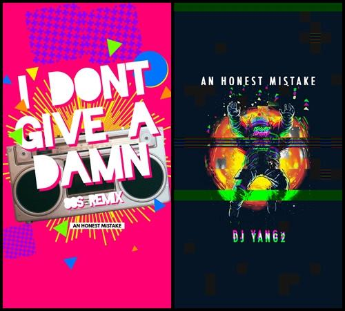"""""""I Don't Give A Damn (80s Remix)"""" will be released on 11 September, while """"I Don't Give A Damn (DJ Yang2 Remix)"""" is releasing on 25 September."""