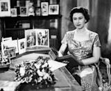 The Queen at Sandringham shortly after making her traditional Christmas Day broadcast to the nation