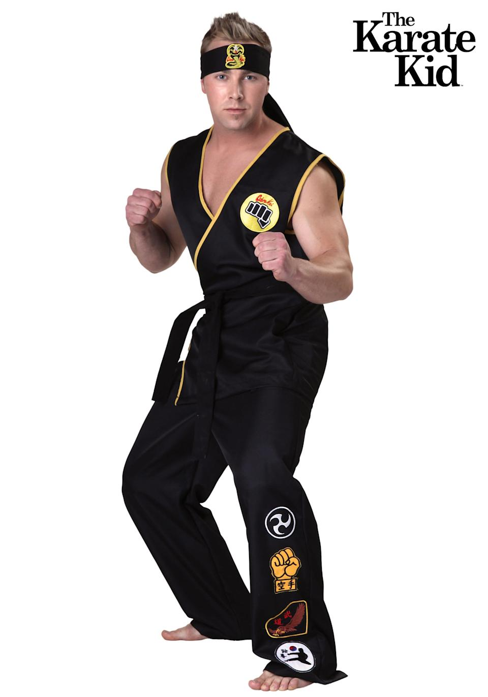 Cobra Kai Costume. Photo via halloweencostumes.com
