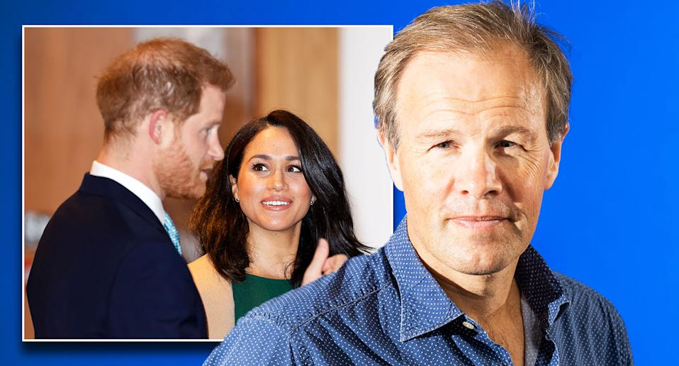 Tom Bradby interviewed Meghan and Harry for the recent ITV documentary. [Photo: Getty]