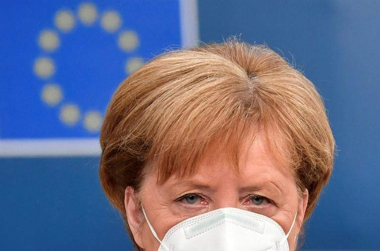 German Chancellor Angela Merkel said she could not tell if a solution would be found to the bloc's disagreements