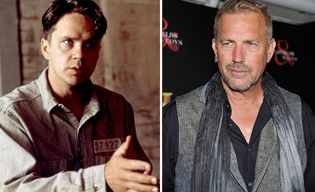 """Kevin Costner said no to a starring role in """"The Shawshank Redemption,"""" which then went to Tim Robbins. Instead, Costner starred in """"Waterworld"""" that year, a judgment error he hasn't forgotten."""