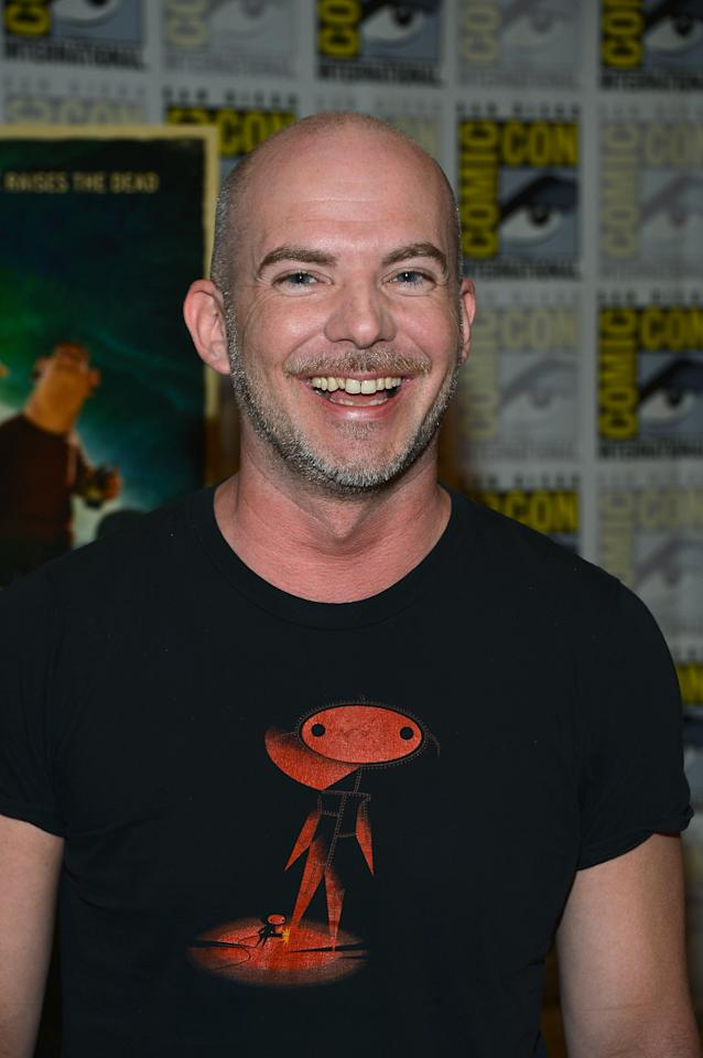"""SAN DIEGO, CA - JULY 13: Chris Butler attends """"Paranorman"""" during Comic-Con International 2012 held at the Hilton San Diego Bayfront Hotel on July 13, 2012 in San Diego, California.  (Photo by Frazer Harrison/Getty Images)"""
