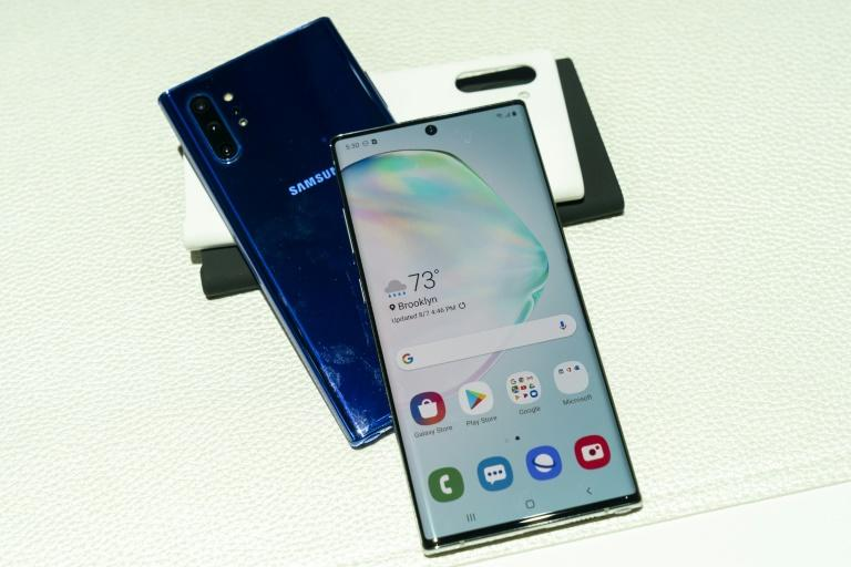 South Korean tech titan Samsung leads the global smartphone market with a 23-percent share of the sector