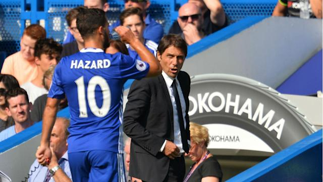Antonio Conte sees Eden Hazard's Belgium call-up from the point of view of counterpart Roberto Martinez and feels it may help Chelsea.