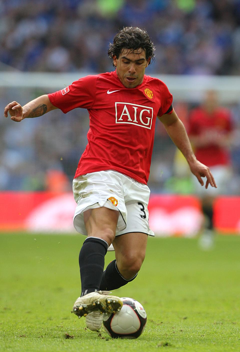 Carlos Tevez, Manchester United   (Photo by Nick Potts - PA Images/PA Images via Getty Images)