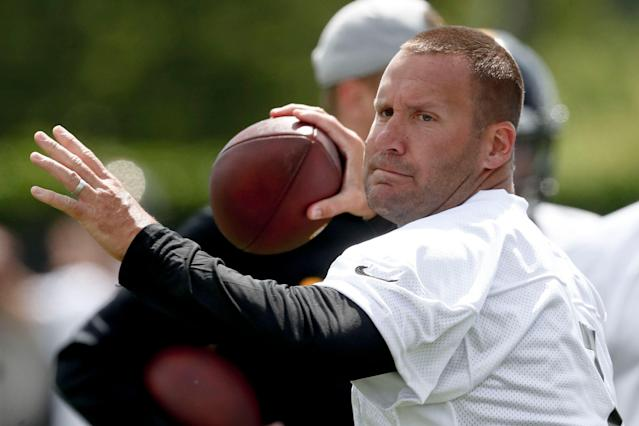 Pittsburgh Steelers quarterback Ben Roethlisberger (7) was criticized by another former teammate. (AP)