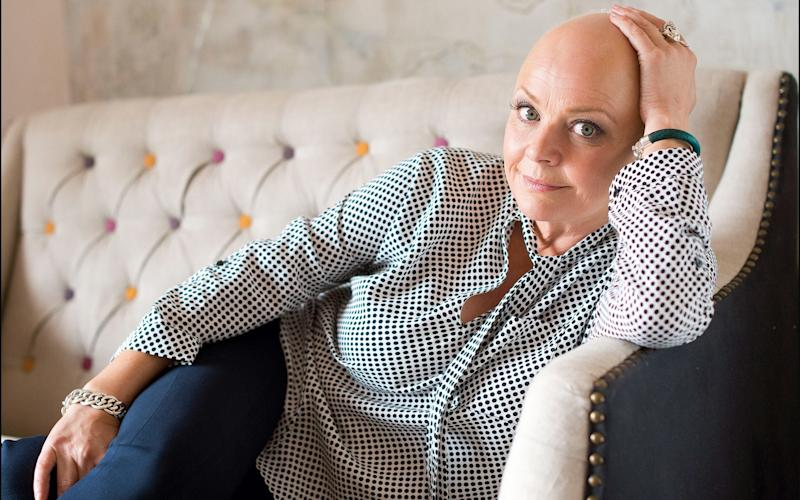 TV presenter Gail Porter tells Victoria Young how her daughter has helped her embrace her hair loss - © 2015 by Daily Mail