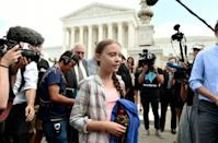 Swedish teen Greta Thunberg has become the poster child for a new youth-led climate change protest movement