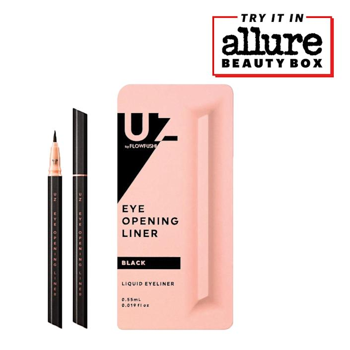 """<p>""""All 13 shades of the <a href=""""https://www.allure.com/review/uz-eye-opening-liner-colors-swatches?mbid=synd_yahoo_rss"""" rel=""""nofollow noopener"""" target=""""_blank"""" data-ylk=""""slk:UZ Eye Opening Liner,"""" class=""""link rapid-noclick-resp"""">UZ Eye Opening Liner,</a> including the bright yellow and baby blue, are intensely pigmented. With one swipe, you get a bright streak of color. The super-thin, paintbrush-like applicator is completely constructed by hand by Japanese artists in the Kumano region and makes drawing lines, squiggles, or small figures super easy. It's no wonder we gave it a Best of Beauty Award in 2019."""" — <em>Allure staff</em></p> <p>We love it so much we added it to our 2021 Limited Edition <em>Allure</em> Beauty Box lineup. You can score the box <a href=""""https://subscribe.allure.com/subscribe/allure/138899?source=EDT_ALB_EDIT_VANITY_GALLERYINCL_0_JKBEAUTY_ZZ"""" rel=""""nofollow noopener"""" target=""""_blank"""" data-ylk=""""slk:here"""" class=""""link rapid-noclick-resp"""">here</a> if you're interested.</p> $16, UZ. <a href=""""https://www.uz.team/eyeopeningliner/openingliner.html"""" rel=""""nofollow noopener"""" target=""""_blank"""" data-ylk=""""slk:Get it now!"""" class=""""link rapid-noclick-resp"""">Get it now!</a>"""