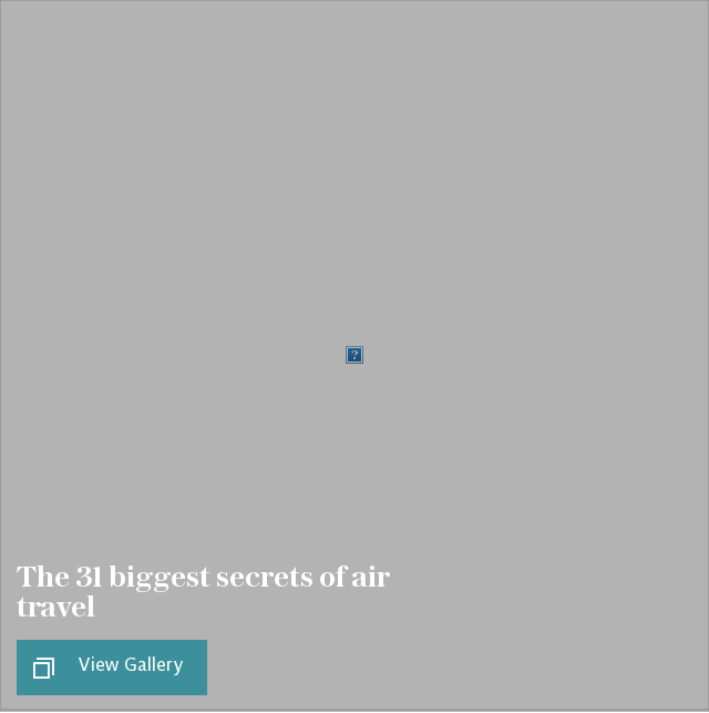 secrets of air travel