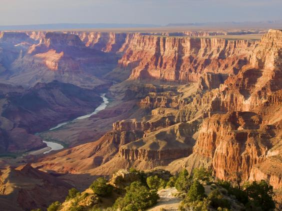 The Colorado River flowing through the Grand Canyon (Getty/iStock)