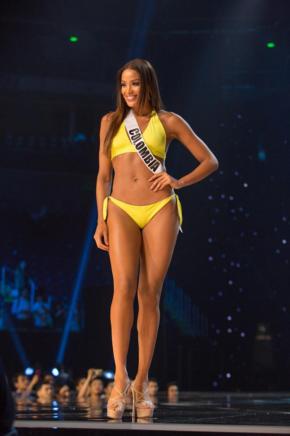 <p>Miss Colombia </p>